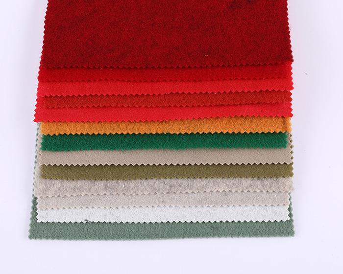 工艺品彩色毛毡布