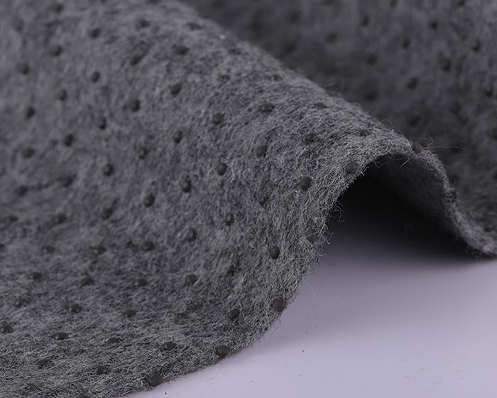 咖啡色滴塑防滑无纺布