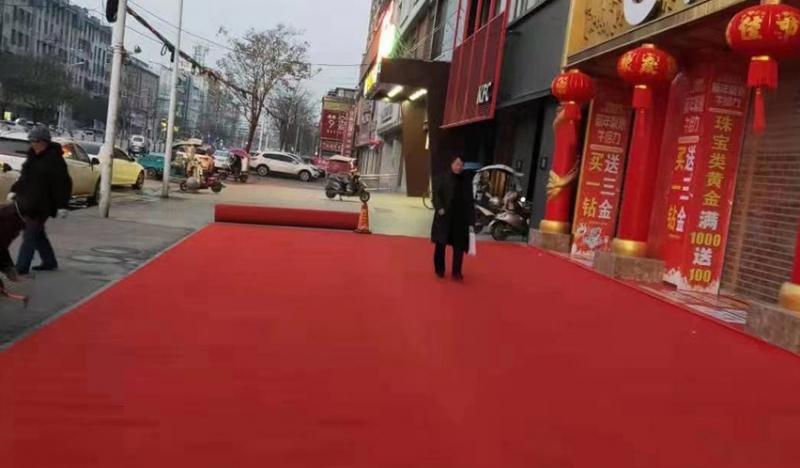 婚庆一次性红地毯