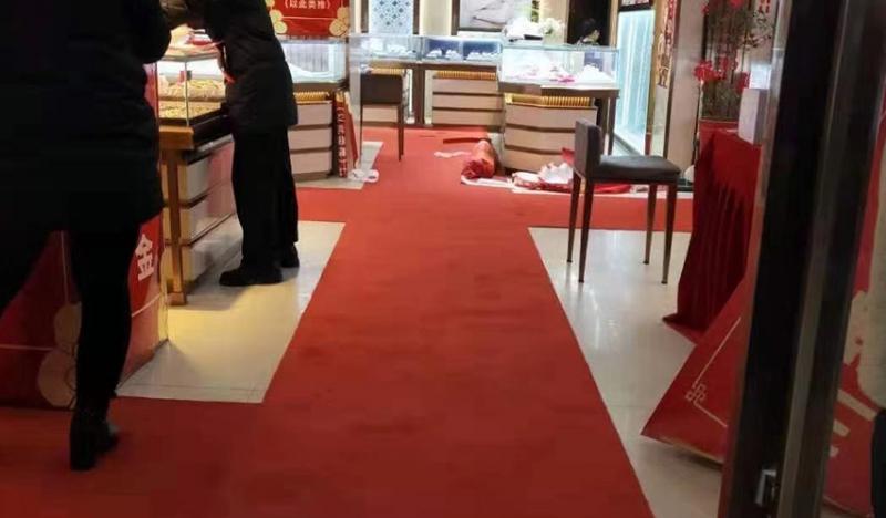 高质量一次性红地毯